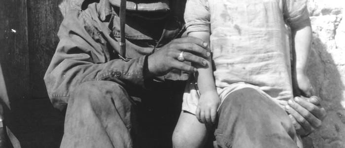 DÇbarquement_soldat avec un enfant
