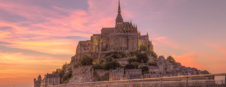 Mont Saint Michel_passerelle