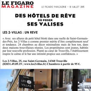 1_Le Figaro Magazine_Hôtel Les 2 Villas