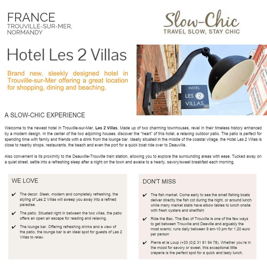 6_Slow Chic_Hôtel Les 2 Villas