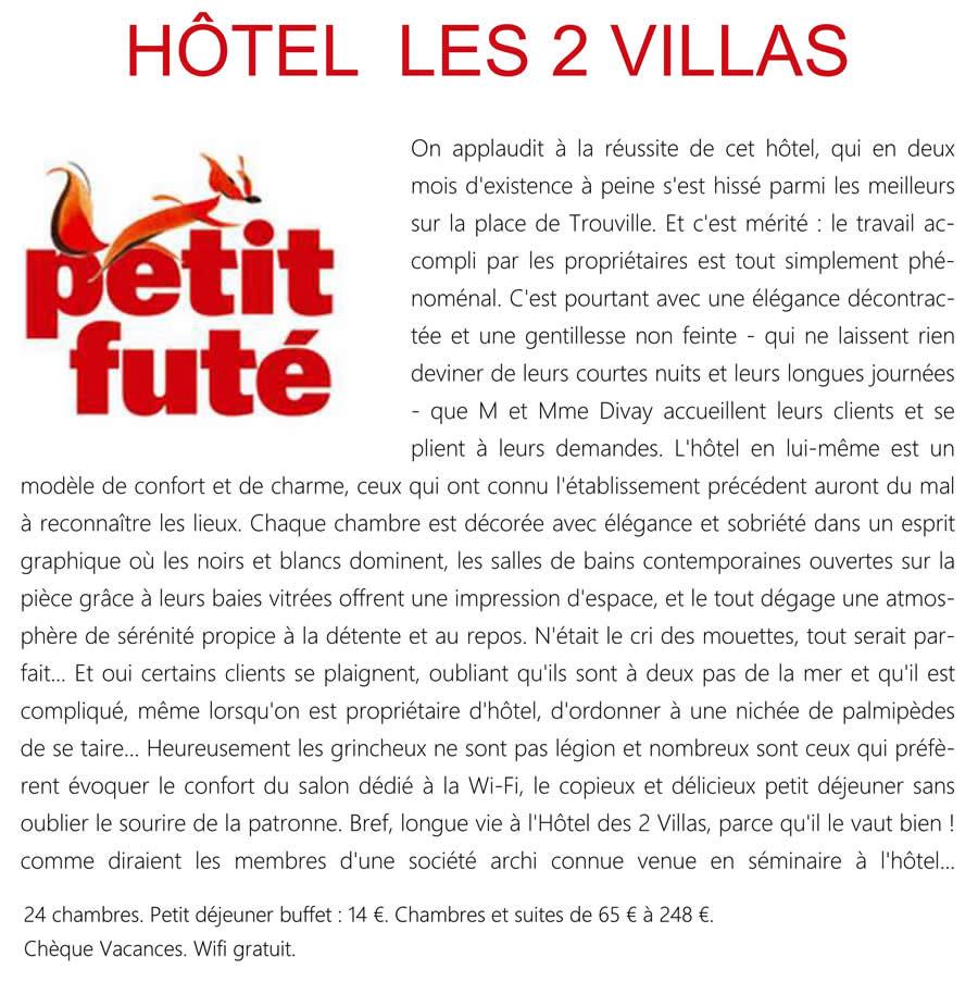 7_Le petit futé_Hôtel Les 2 Villas