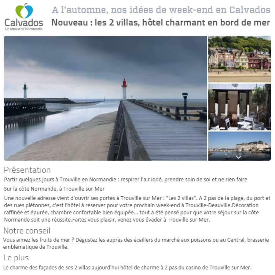 9_Hôtel Les 2 villas_Calvados Tourisme